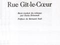 Hlavní titul (Rue Gît-le-Coeur, 1991)
