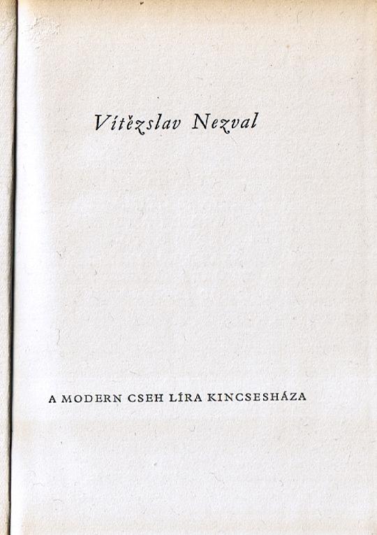 Hlavní titul (Vítězslav Nezval, 1959)