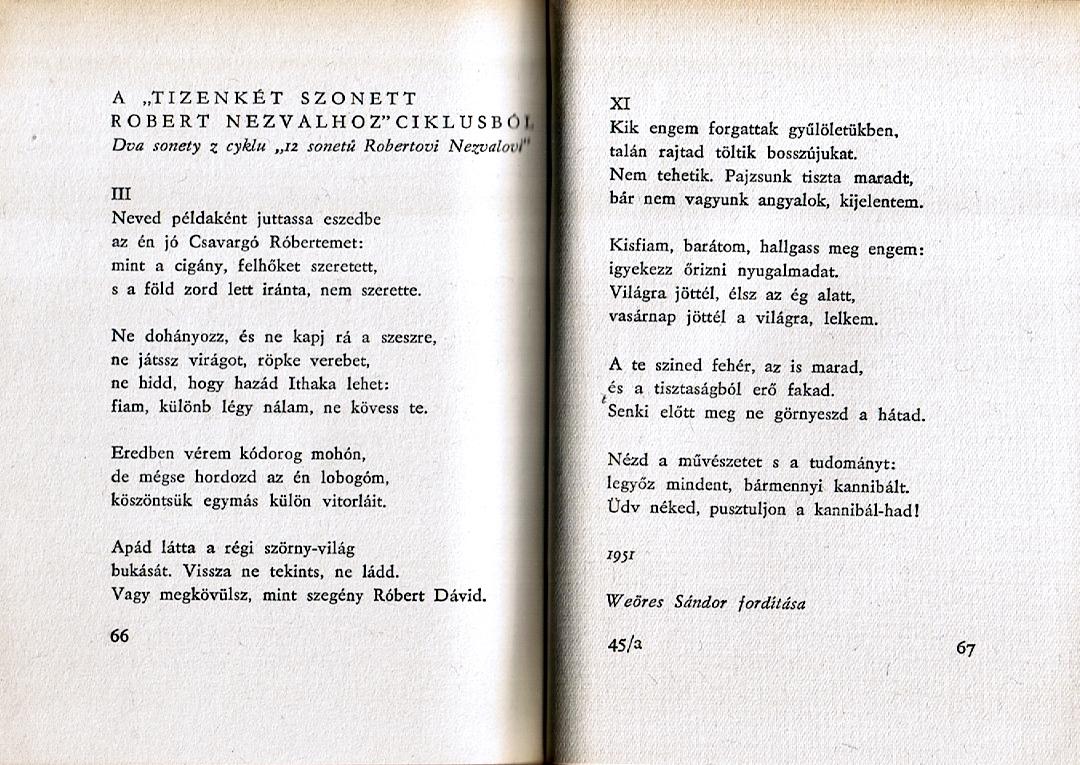 Ukázka z knihy (Vítězslav Nezval, 1959)