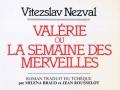 Obálka (Valérie ou la semaine des merveilles, 1984)
