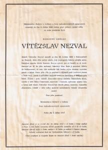 Parte Vítězslava Nezvala (1958)