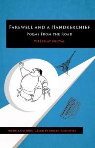 Obálka anglického vydání sbírky Sbohem a šáteček (2020)