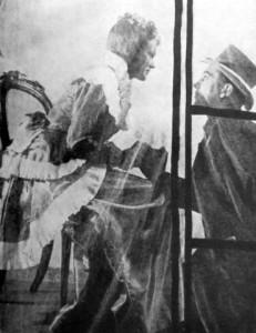 Marie Burešová (Manon) a Vladimír Šmeral (des Grieux)