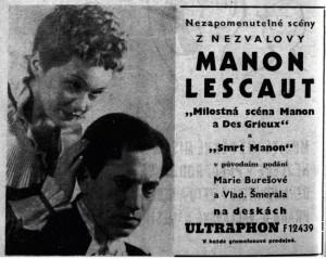 Inzerce v Burianově Programu D 41 (1940)
